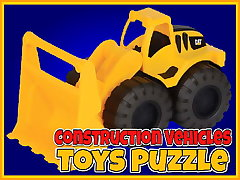 Construction Vehicles Toys Puzzle