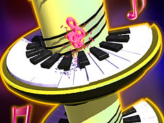 Ball Jump Piano Tile
