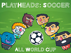 PlayHeads Soccer AllWorld Cup