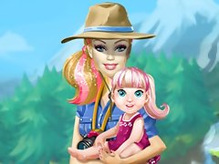Barbie going to Camping